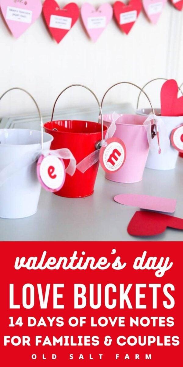 Love Buckets: Valentine's Day Tradition