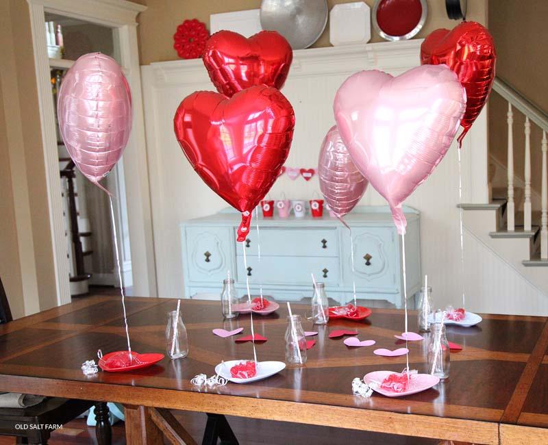 Simple Valentine's Day Morning Idea