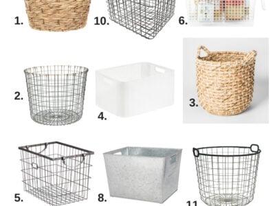 Super Cute & Affordable Storage Baskets & Bins