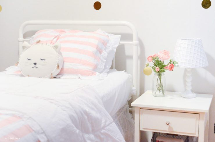 Little Girl's Bedroom Makeover | Before and After
