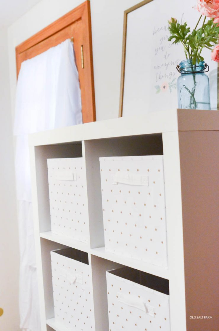 Girls Room Makeover on a Budget