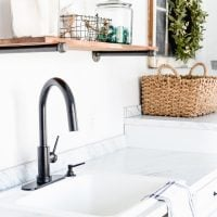 A New Laundry Room Faucet!