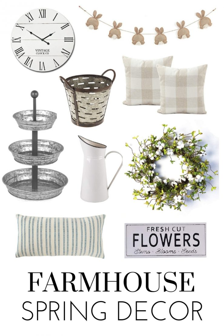 Farmhouse Spring Decor on Amazon