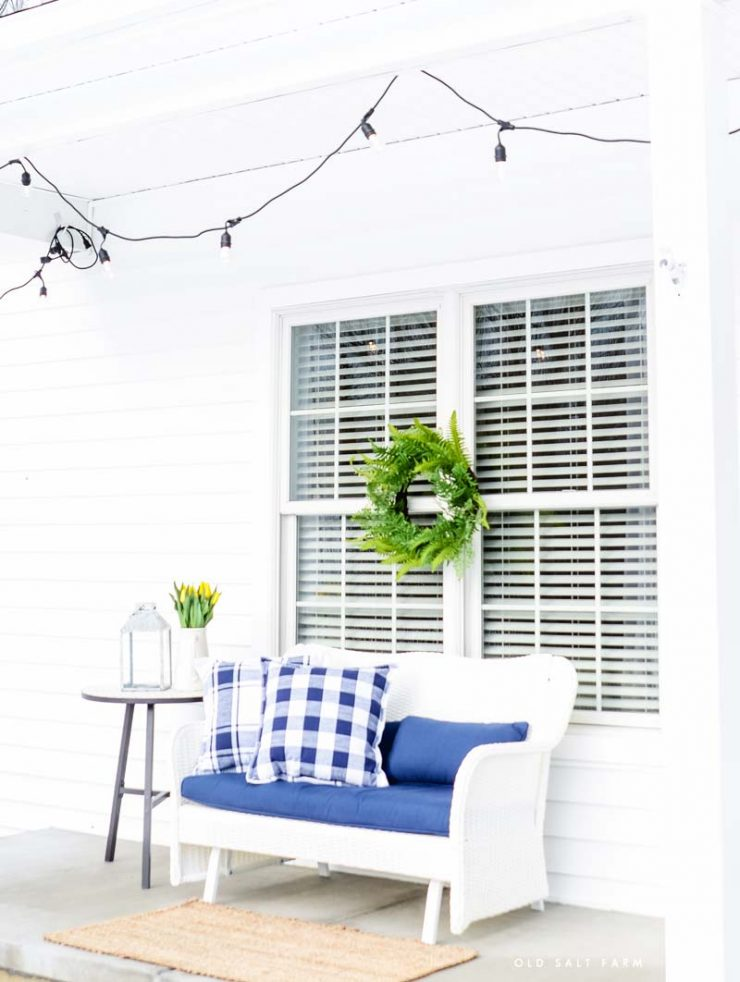 armhouse Spring Porch | Better Homes and Gardens