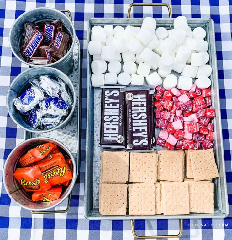 Backyard S'mores Party | S'mores Ideas