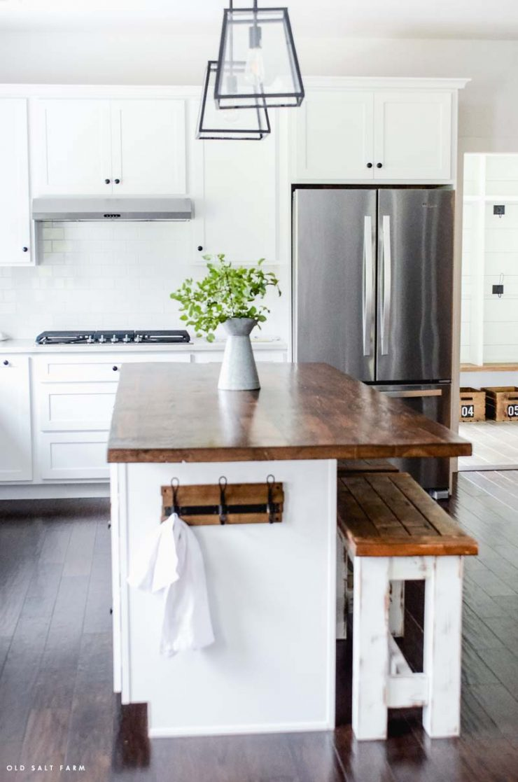 Diy Barn Wood Kitchen Island Reclaimed Wood Projects
