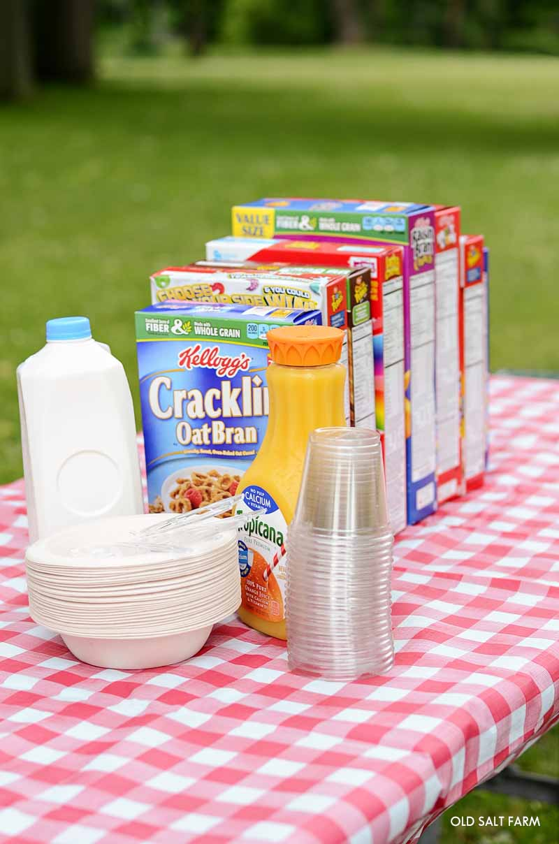 Summer Family Tradition: Cereal Night at the Park