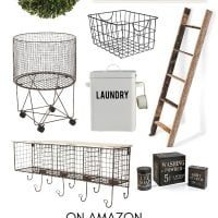 Farmhouse Laundry Room Decor on Amazon
