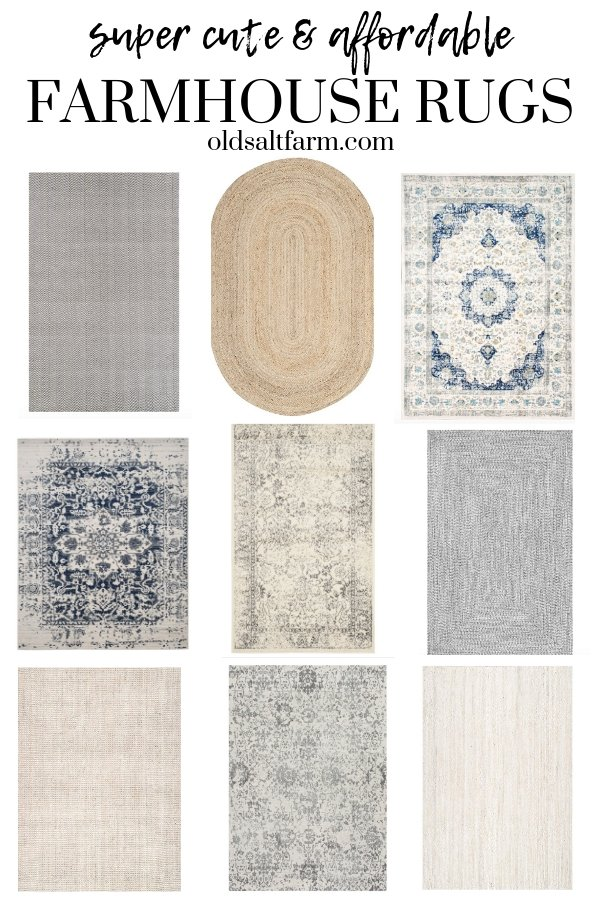 Farmhouse Rugs Farmhouse Style