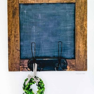 Easy DIY Chalkboard Farmhouse Decor