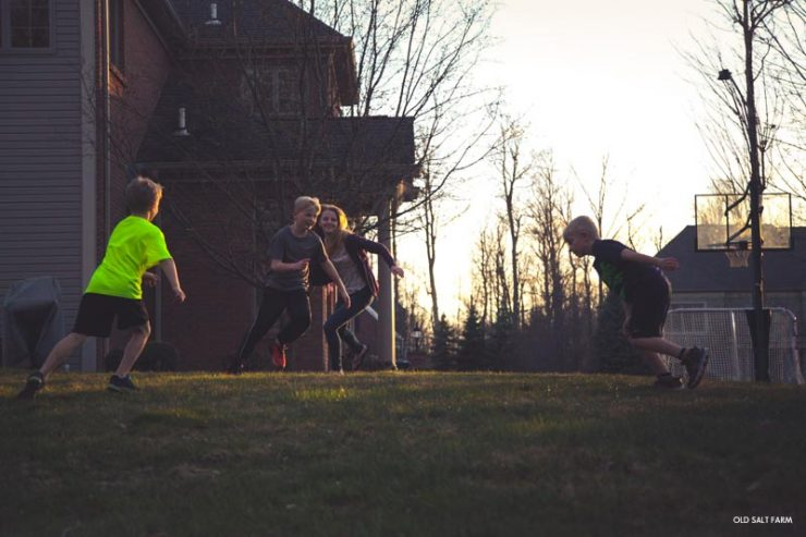 Outdoor Night Games Family Fun