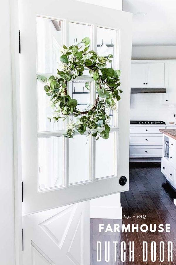 Farmhouse Dutch Door
