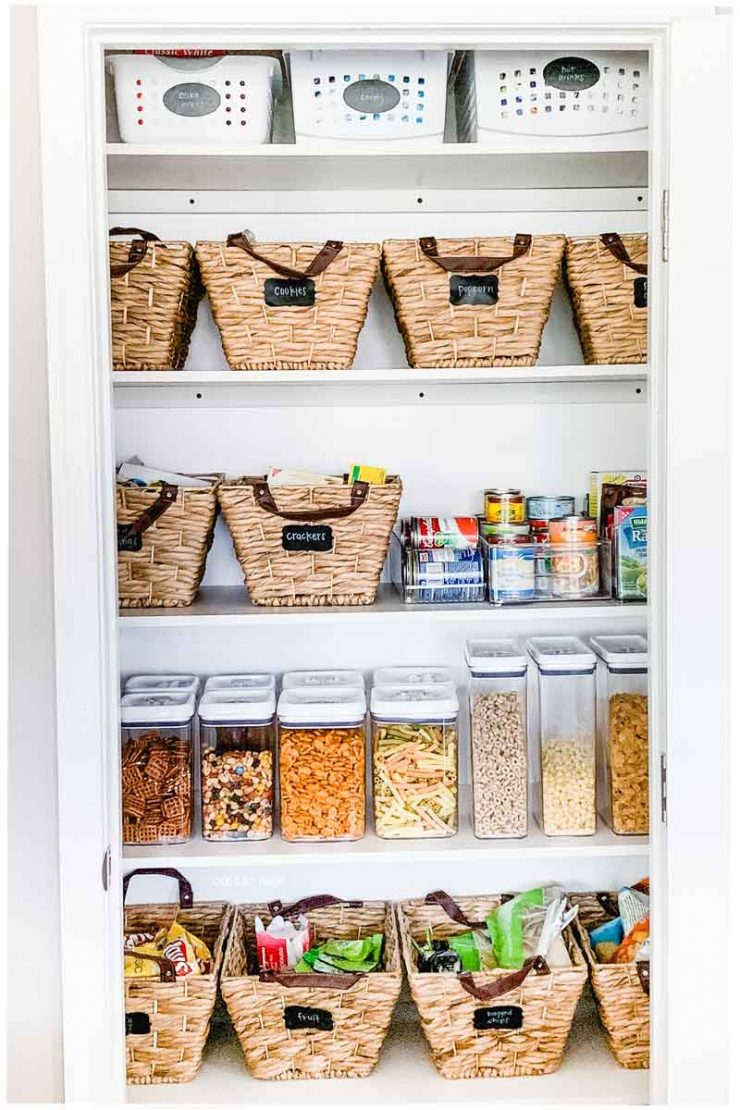 Kitchen Pantry Organization | Baskets & Bins | Old Salt Farm