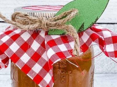 Caramel Apple Dip and Gift idea