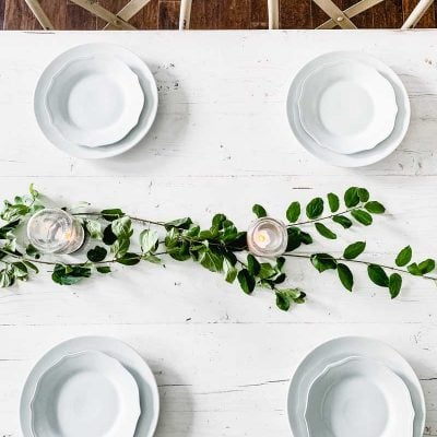 Simple Farmhouse Summer Table