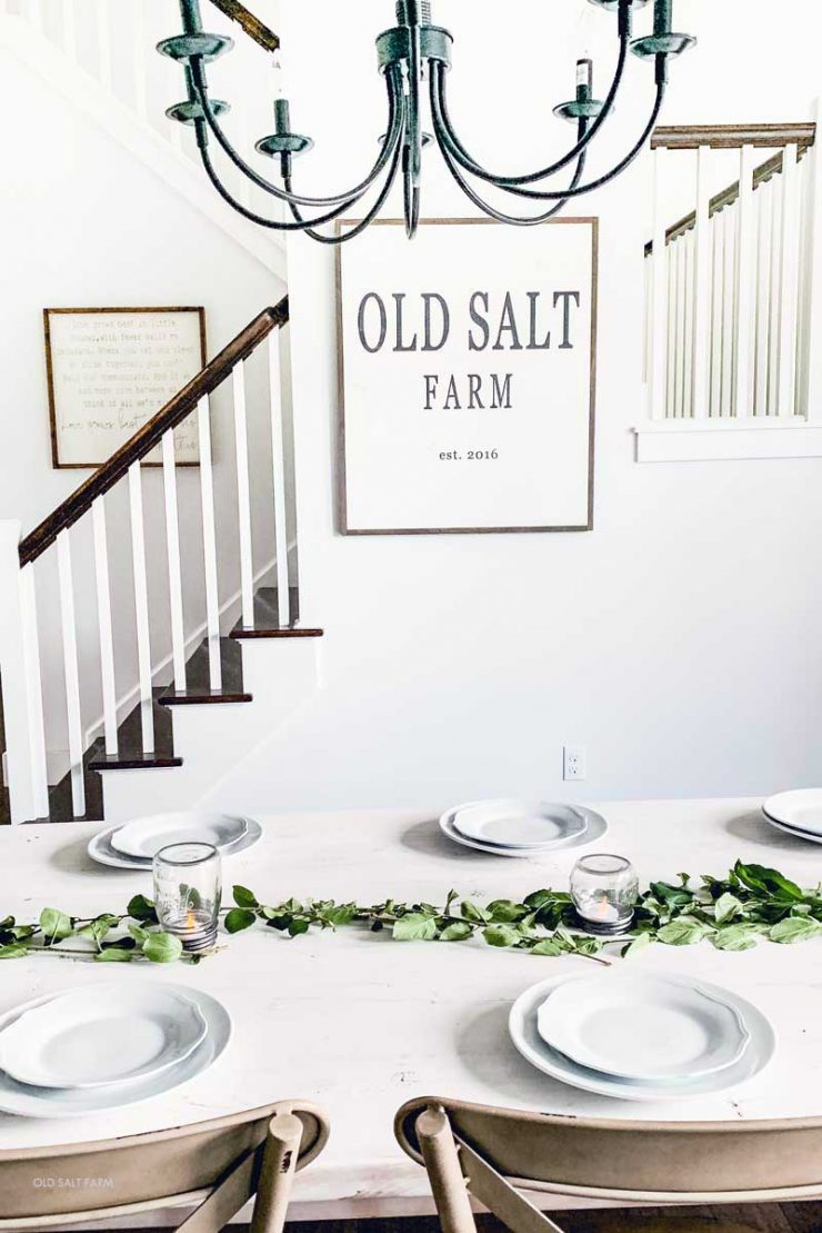 Farmhouse Summer Table