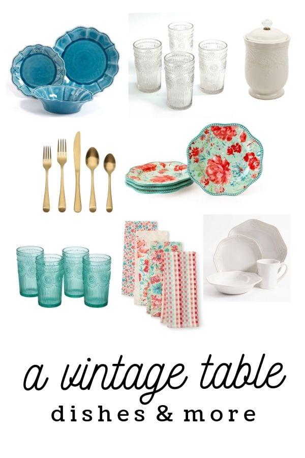 Favorite Vintage Tableware Finds