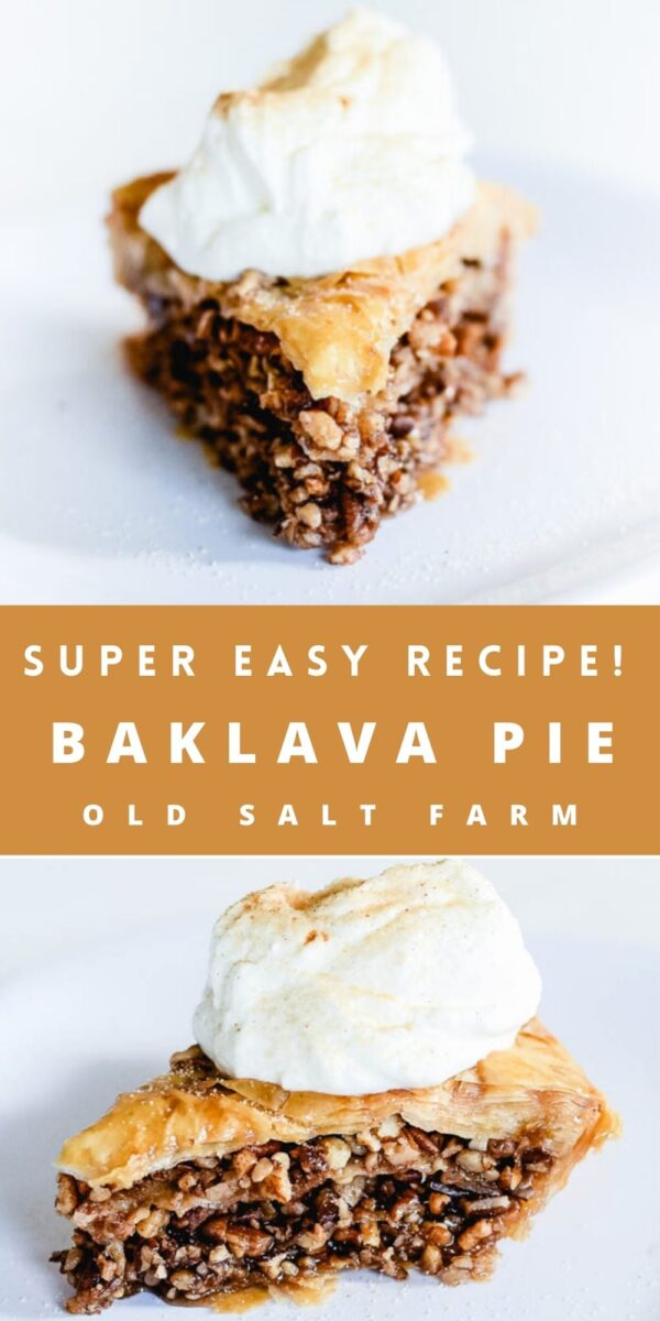 Easy Baklava Pie