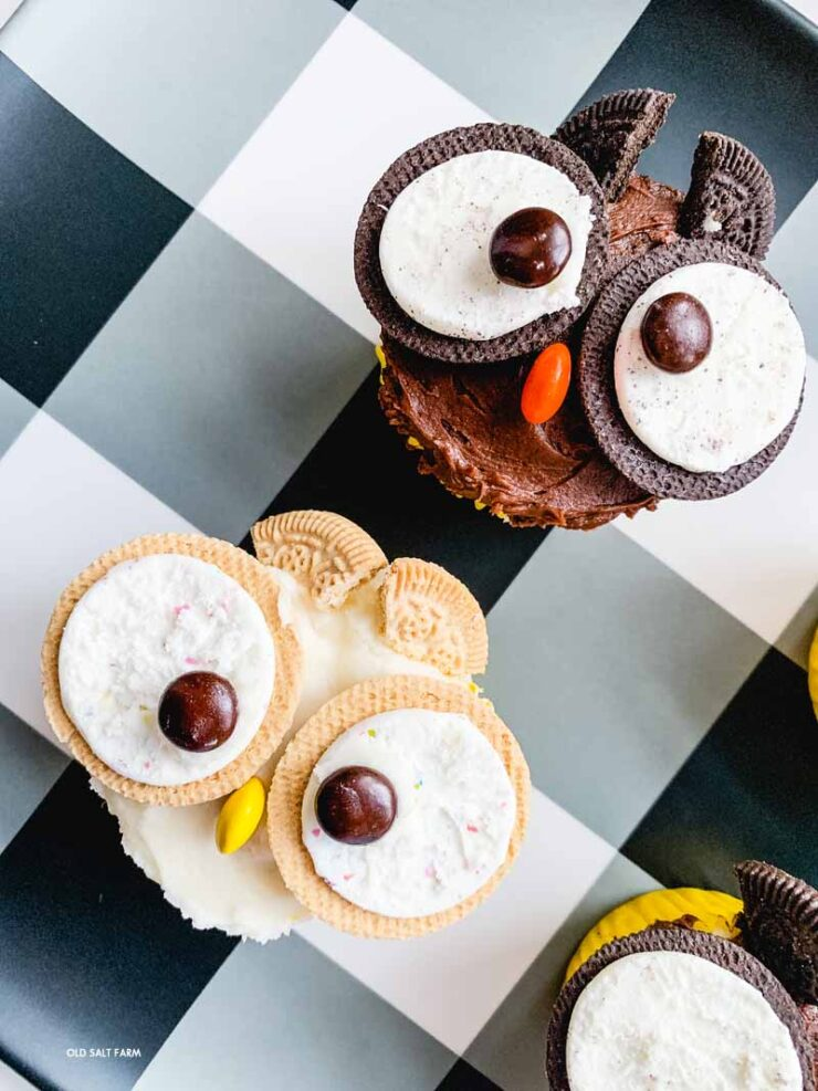 Owl Cupcakes | Fall or Halloween Treats