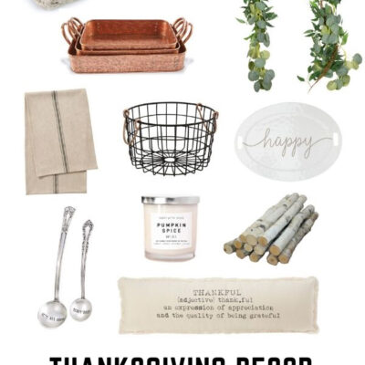 Thanksgiving Decor Cozy Favorites for Home and Kitchen | Farmhouse Favorites