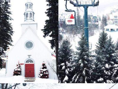 Family Ski Trip to Mont Tremblant, Quebec