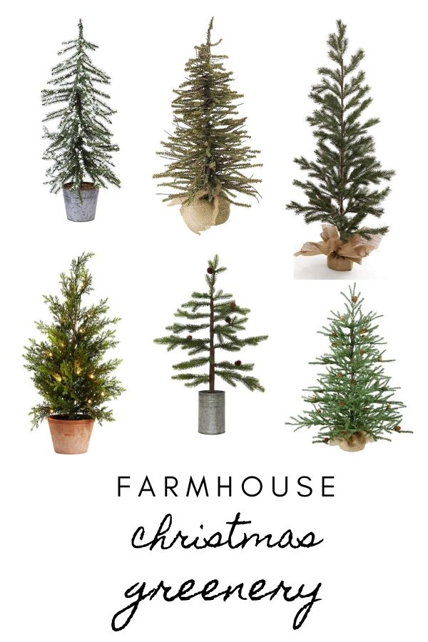 Farmhouse Christmas Greenery