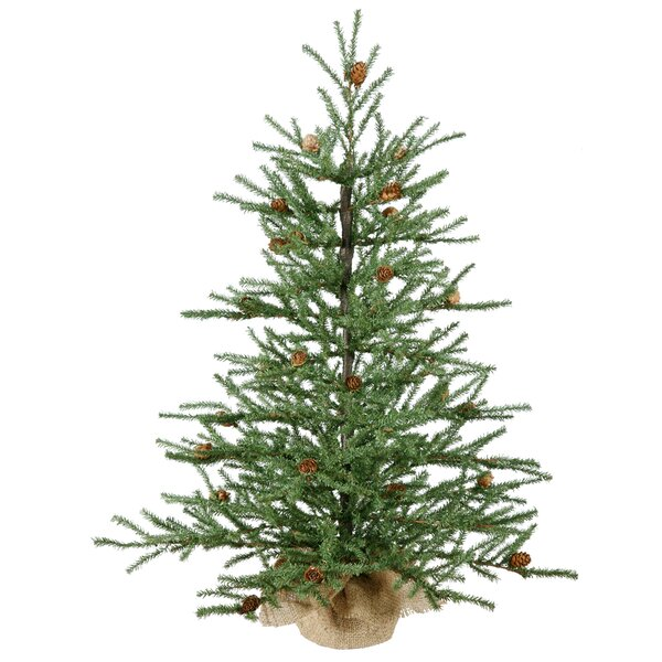 Green Pine Faux Mini Tree