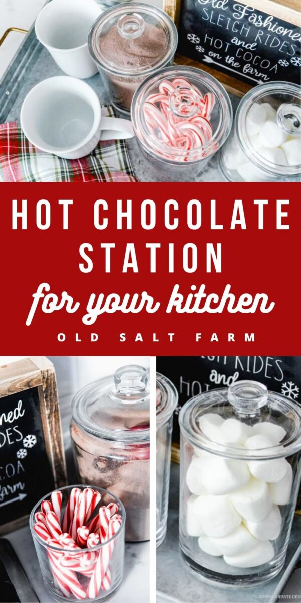 Hot Chocolate Station for Your Kitchen