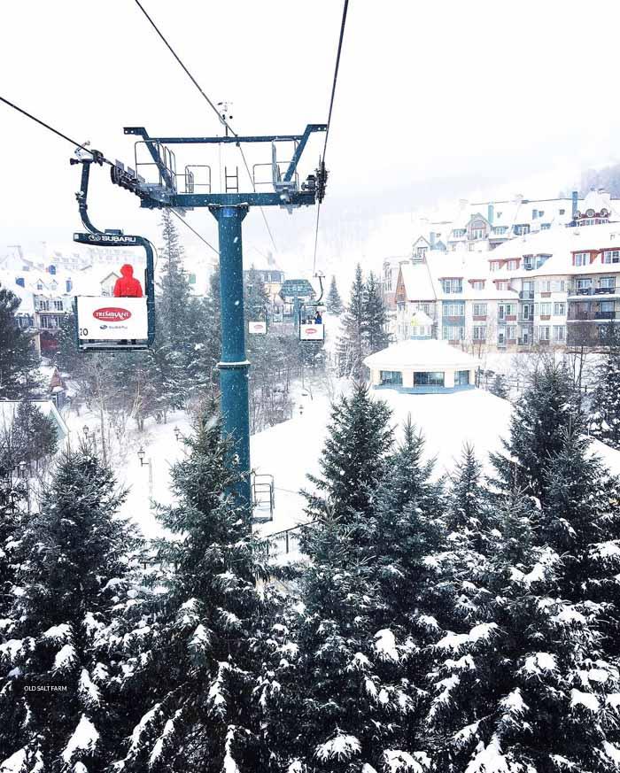 Family Ski Trip to Mont Tremblant