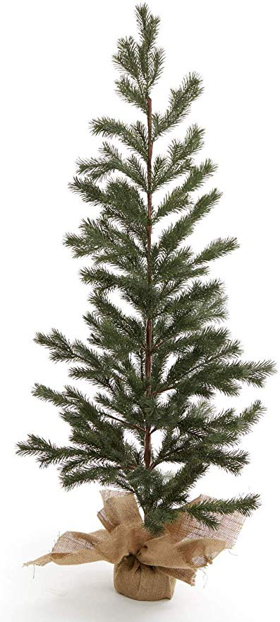 christmas tree burlap base 48 inch