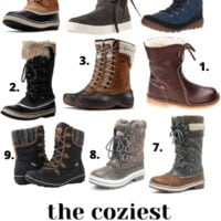 Coziest Winter Snow Boots for Women