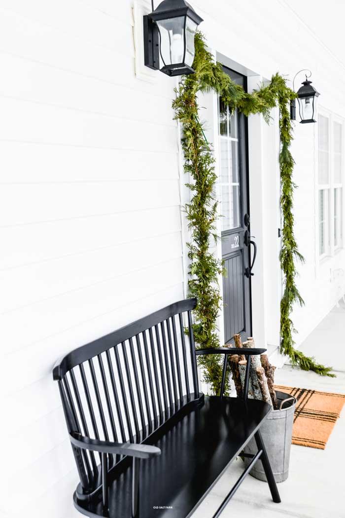 Farmhouse Christmas Home Tour   Christmas Porch
