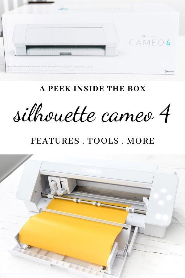 What Comes With a Silhouette Cameo 4