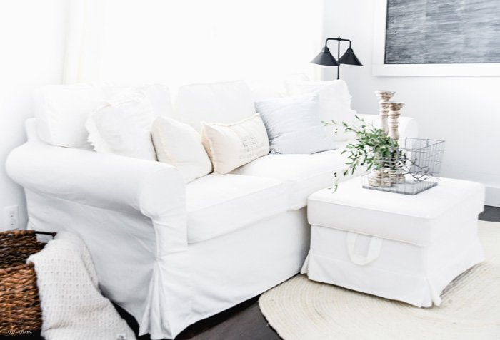 White Couches with Kids…REAL Life Pros and Cons
