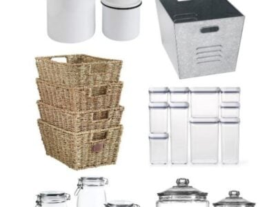 Farmhouse Pantry Storage Containers