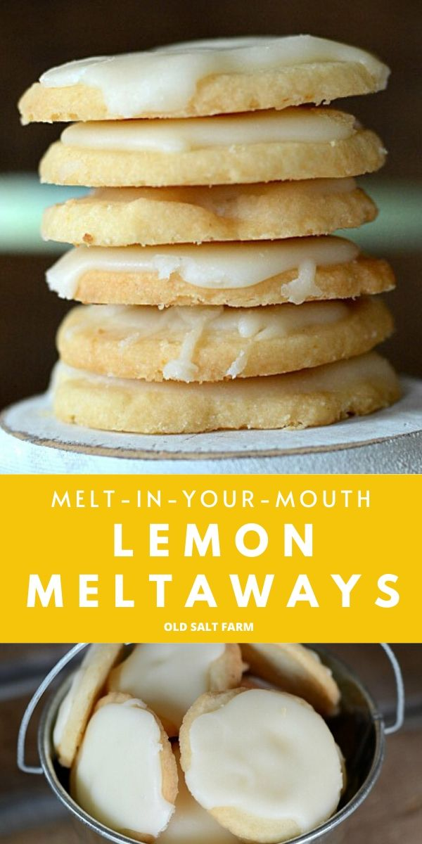 Lemon Meltaways Cooke Recipe