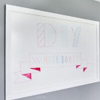 Quick & Easy DIY Whiteboard