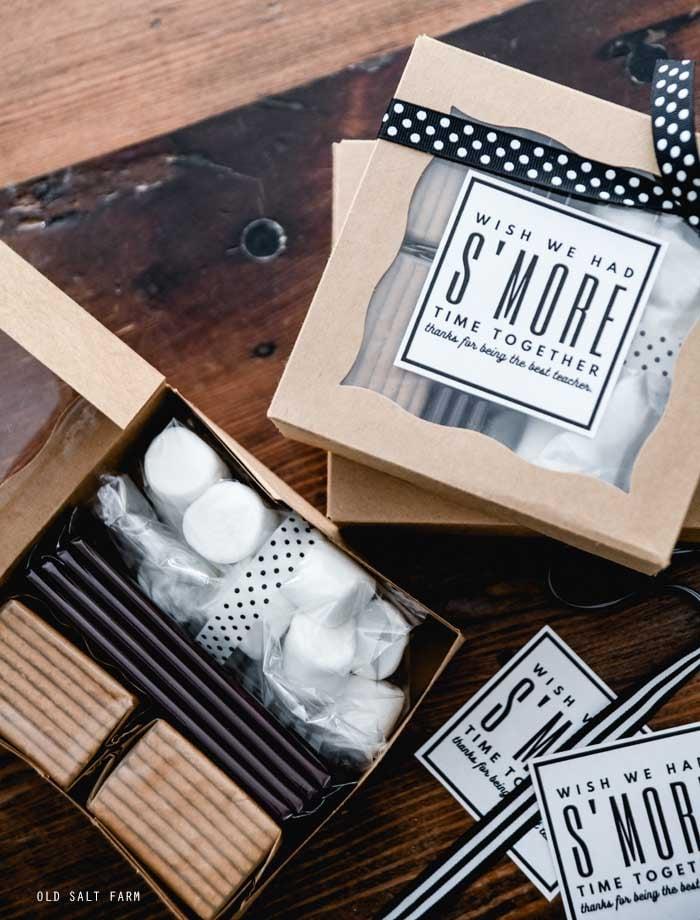 S'mores Teacher Gift Idea
