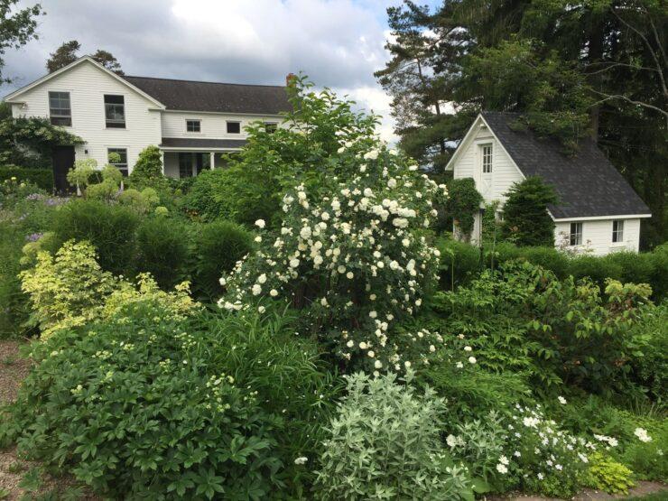 White Farmhouse Upstate New York