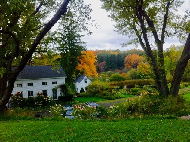 1840's White Farmhouse in Upstate New York