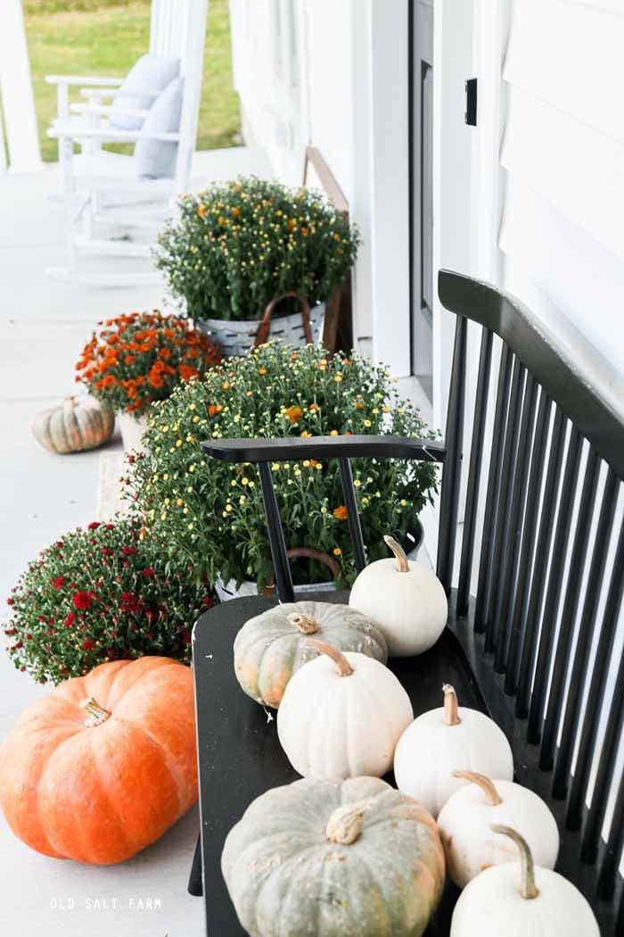 Simple Fall Porch Decor