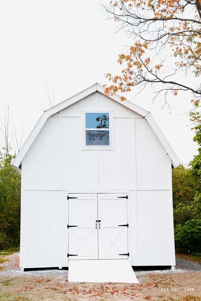 Building Our White Barn