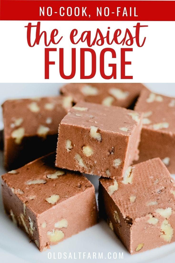 The EASIEST Fudge!