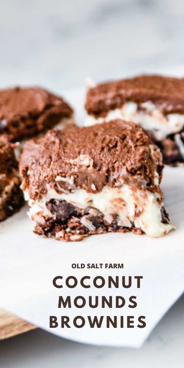 Coconut Mounds Brownies