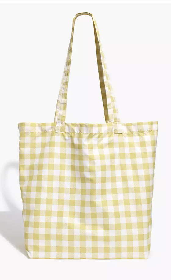 Gingham Totes for Spring & Summer