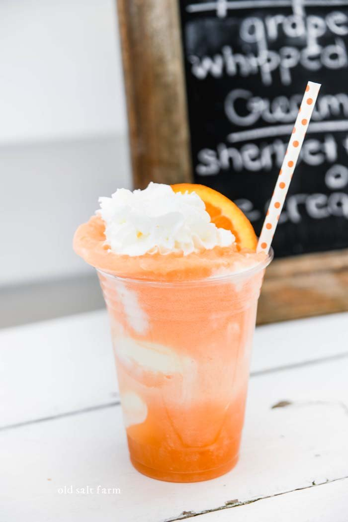Orange Creamsicle Ice Cream Float