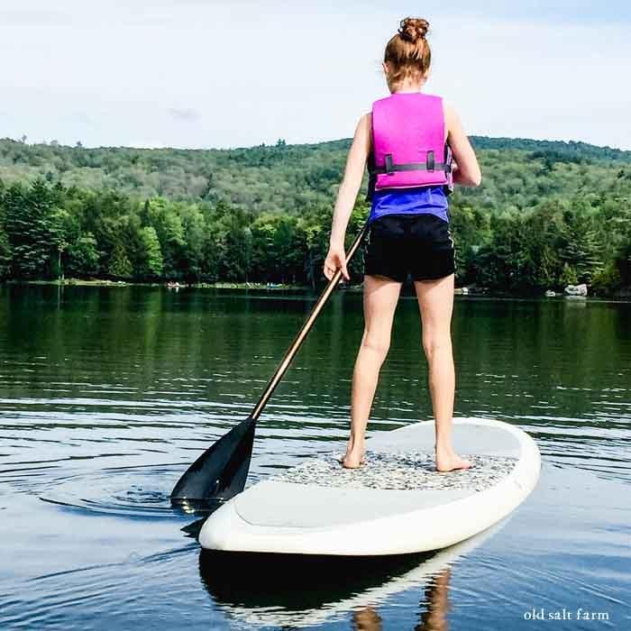 paddleboarding Lake Minerva