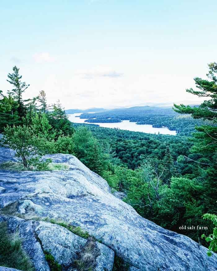 A family vacation in the adirondacks