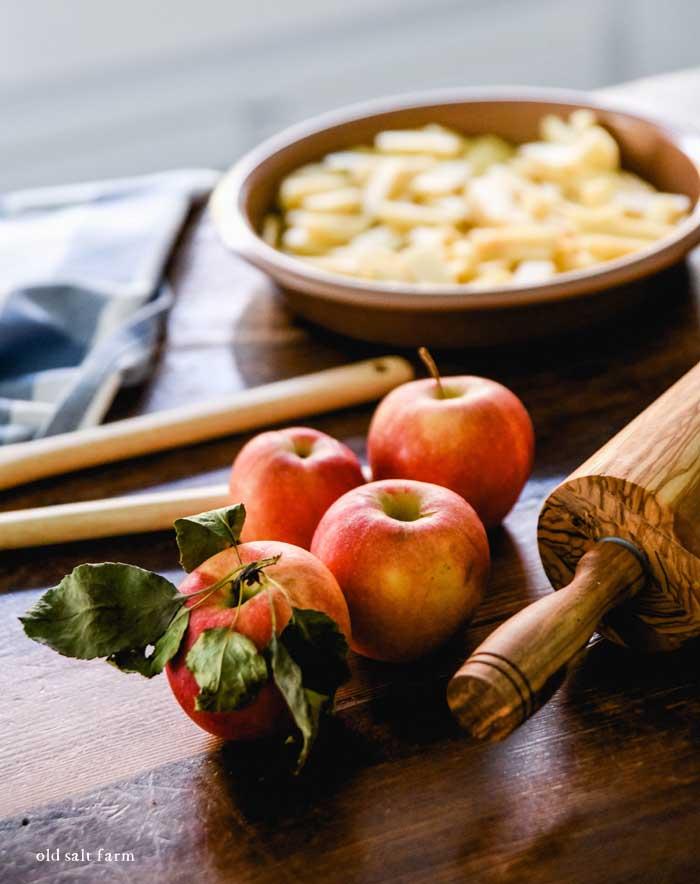 Apple Crisp Fall Baking