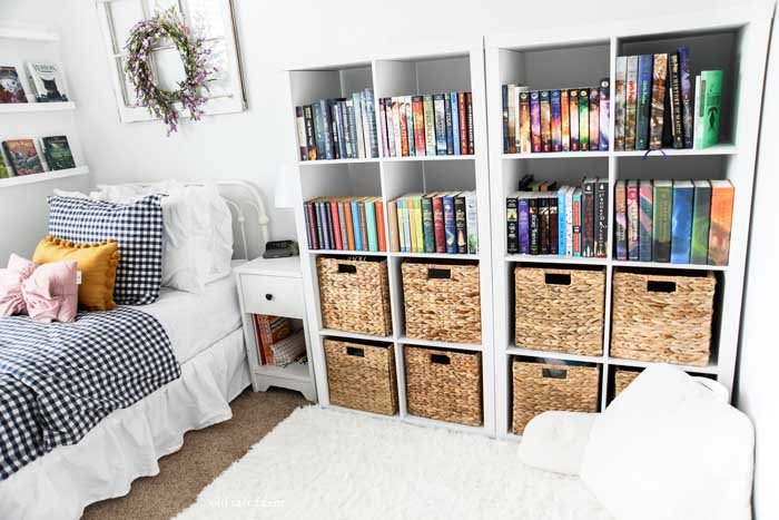 Bedroom Storage Solutions Books and Dresser